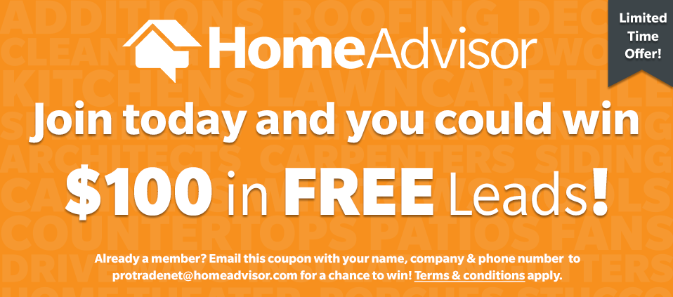 Join today, and you could win $100 in FREE leads!
